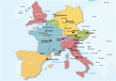map of west europe with cities map of western europe with cities pictures to pin on