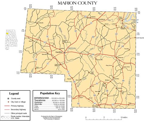 County Alabama Records Marion County Alabama History Adah