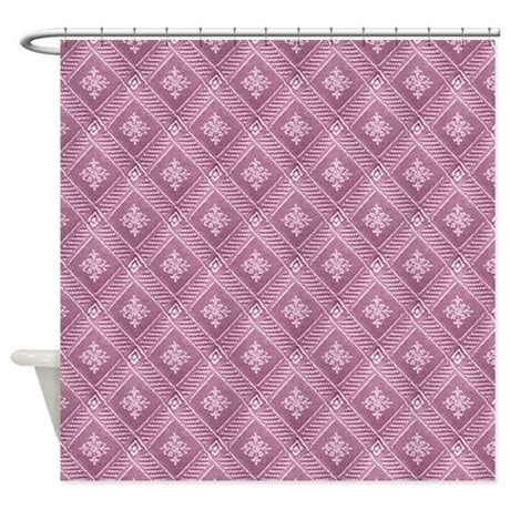 pink damask shower curtain orchid pink damask pattern shower curtain by