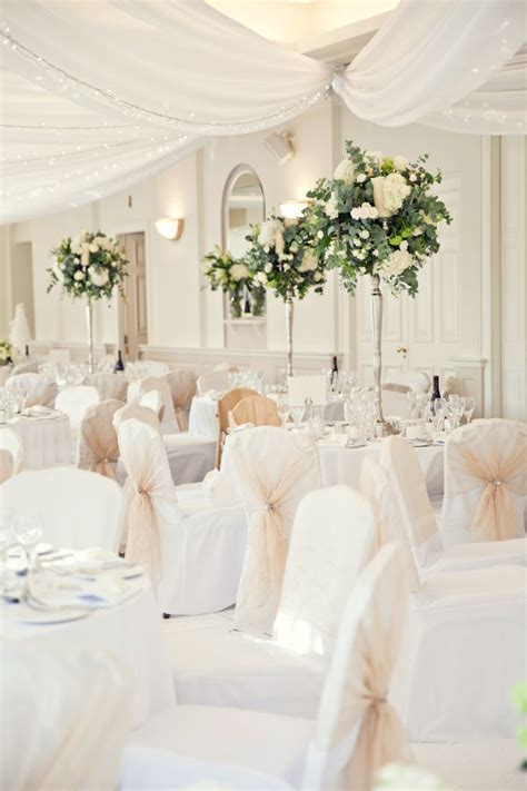 best 25 white chair covers ideas on wedding