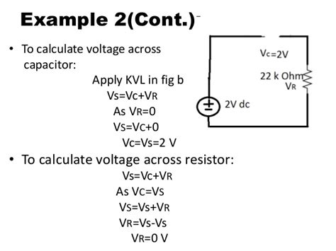 calculate capacitor in dc circuit superposition of ac and dc sources