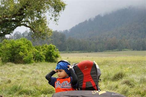 Gendongan Bayi Naik Gunung q a lebih dekat dengan max pendaki tiga tahun yang