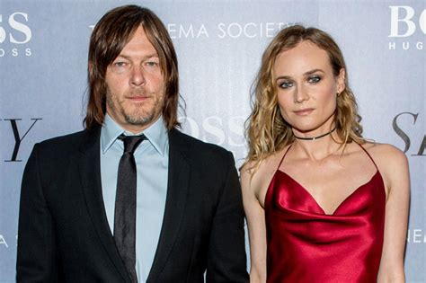 does norman reedus have a girlfriend it sure looks like diane kruger is dating norman reedus now