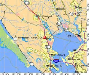 marin california map northeast marin california ca 94945 profile population