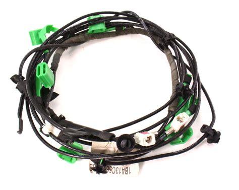 radio antenna wiring harness   vw passat  genuine