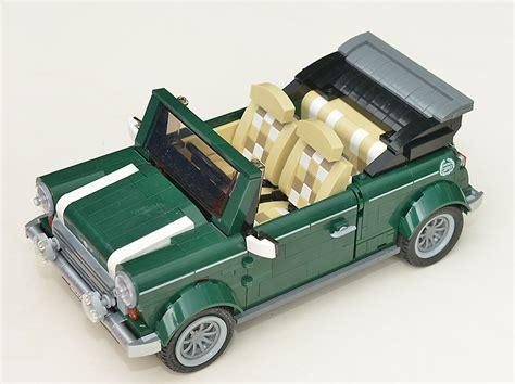 lego mini cooper porsche re mini cooper geht auch als cabrio umbau lego