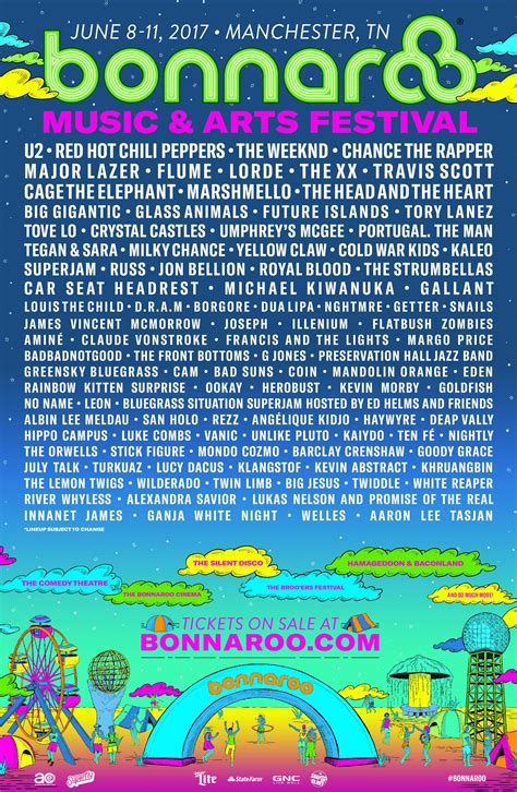 Bonnaroo Ticket Giveaway 2017 - win tickets to bonnaroo 2017 enter online wncw