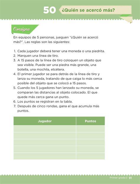 libro de matematicas pagina 97 a la 116 contestado desaf 237 os matem 225 ticos libro para el alumno primer grado