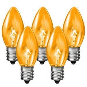 lights spare bulbs c7 transparent replacement bulb 7 watt