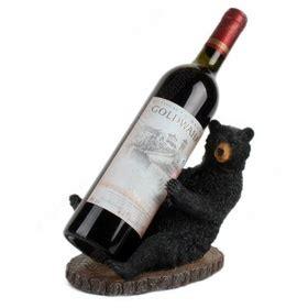 black bear wine bottle holder western rustic home decor ebay 56 best images about black bears on pinterest rustic