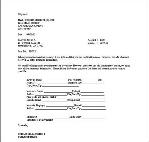 Patient Follow Up Letter Templates Sle Follow Up Letters