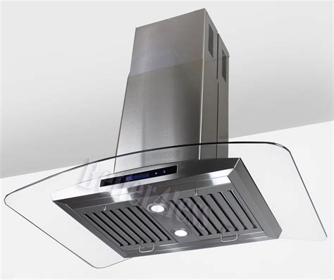 Kitchen Exhaust Fan 36 034 Island Mount Stainless Steel Kitchen Range