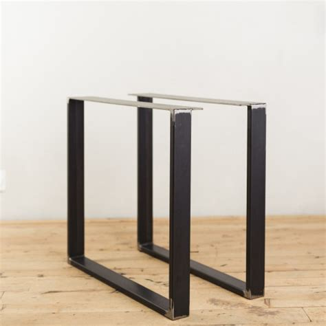 u shaped table legs steel u legs factor fabrication