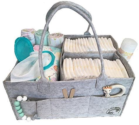 Diaper Caddy By Littlest Sweet Nursery And Car Organizer Changing Table Bag