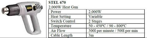 Original Heat Gun Stanley Stel 670 Air Gun 2000w kalex trading malaysia tools stanley power tool