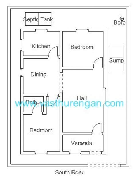 south facing vastu house plans vastu plan for south facing plot 2 vasthurengan com