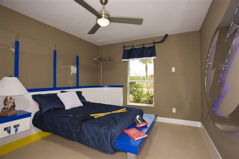 hockey bedroom ideas hockey room eclectic kids ta by cardel homes