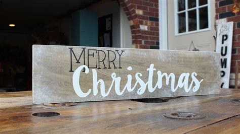 merry christmas decor sign diy home tutorial guidecentral youtube
