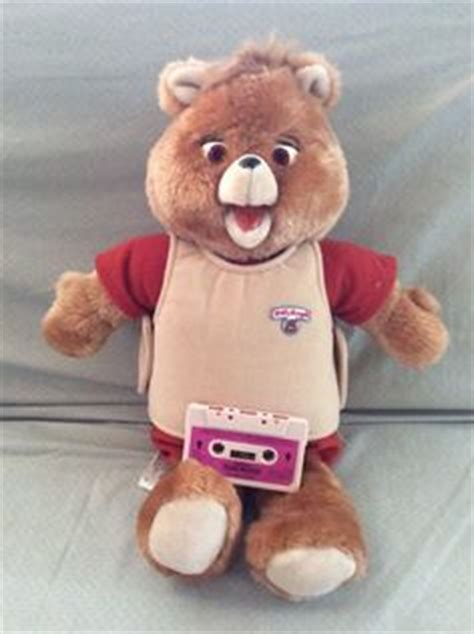 teddy ruxpin cassette 1000 ideas about teddy ruxpin on 1980s 1980s