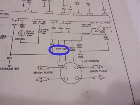 4y distributor wiring diagram international fuse panel