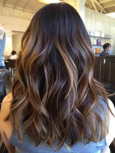 image result for blunt bangs and balayage coiffure coiffures m 232 ches et beaut 233 balayage blond sur brune comment r 233 ussir cette technique de coloration