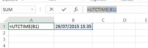 utc time tutorial how to calculate utc time in excel convert time format