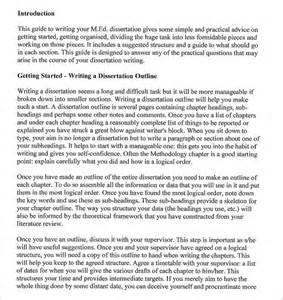 dissertation outline template dissertation outline template 7 free free word pdf