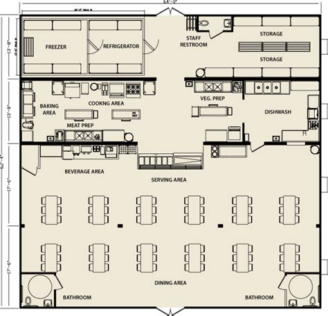 cafeteria floor plan modular building cafeteria facilities floorplan