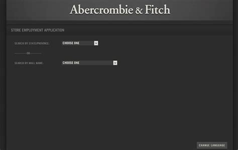 printable job application for abercrombie and fitch abercrombie fitch job application apply online