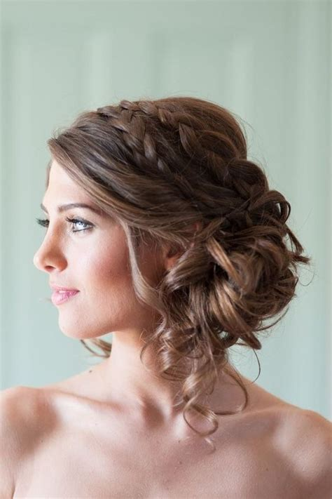 Wedding Hairstyles For Brown Hair by Wedding Hairstyles For Medium Brown Hair Nail Styling