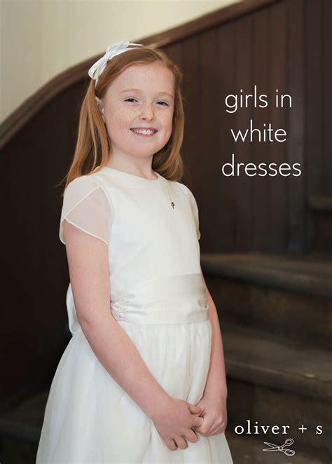 white in in white dresses oliver s
