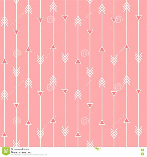 seamless multicolor arrow pattern stock vector image white arrows on pink seamless pattern background