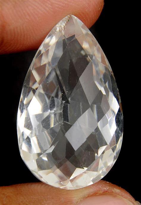 51 19 ct certified white quartz gemstone for sale