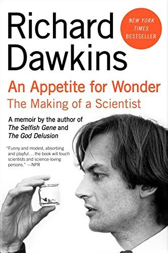 libro an appetite for wonder libro an appetite for wonder the making of a scientist di richard dawkins