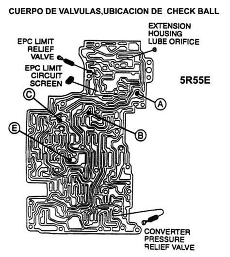 4r100 valve diagram e4od valve check location e4od get free image
