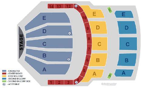keller auditorium seat map keller auditorium seating