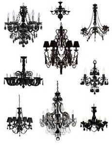 Black Chandelier Drama The Elegance Sophistication Of The