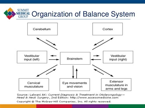 what is sectional balancing system balance disorders
