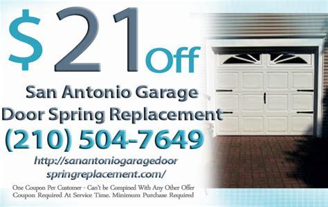 garage door parts san antonio san antonio garage door replacement garage door