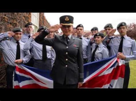 carol vorderman salutes  raf air cadets