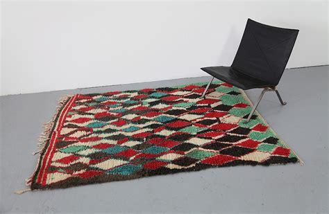 Vintage Azilal Berber Schafswoll Teppich aus Marokko Nr.2