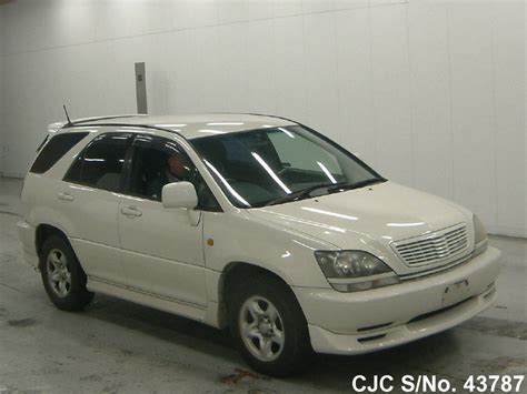 Toyota Harrier 1998 Model 1998 Toyota Harrier Pearl For Sale Stock No 43787