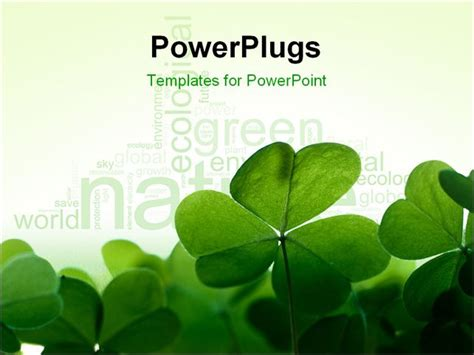 ppt themes environment powerpoint templates on environment