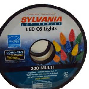 christmas lights led lights sylvania led 200 c6 reel multi christmas lights american sale