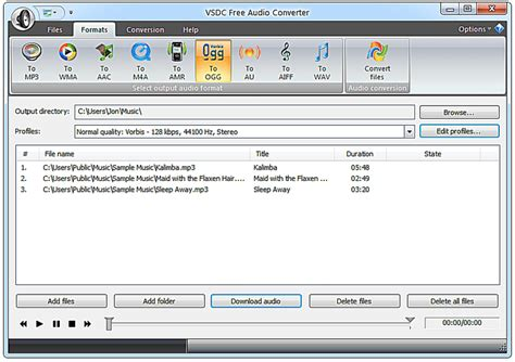 format audio oma top 10 free audio converter software
