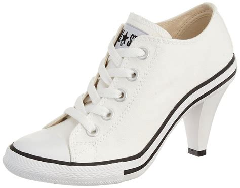 converse all high heels converse all high heel casual sneakers