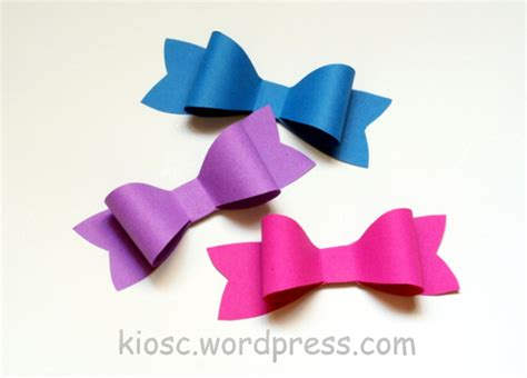 How To Make A Paper Bow - diy how to make a paper bow jak zrobi艸 papierow艱