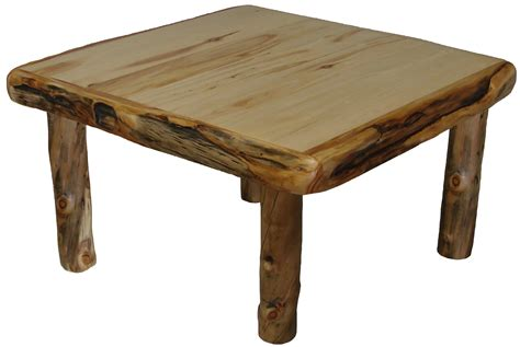 Aspen Dining Table Aspen Gnarly Square Dining Table Rustic Furniture Mall By Timber Creek