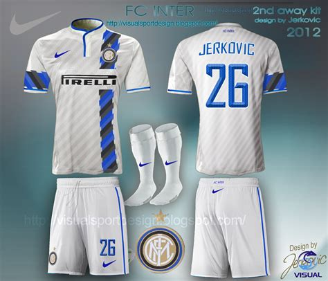Design Custom Intermilan 008 visual football kit design january 2013