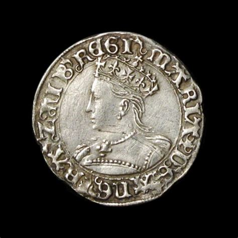 House Of Coins by 1553 1554 Silver Groat Amr Coins
